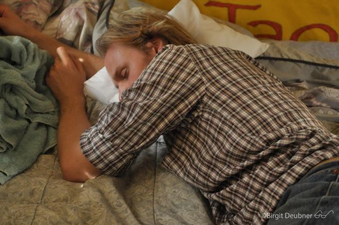 Sometimes every hardworking glassmaker needs a restorative siesta...