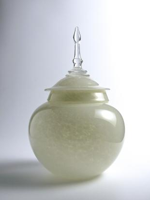 lidded vessel